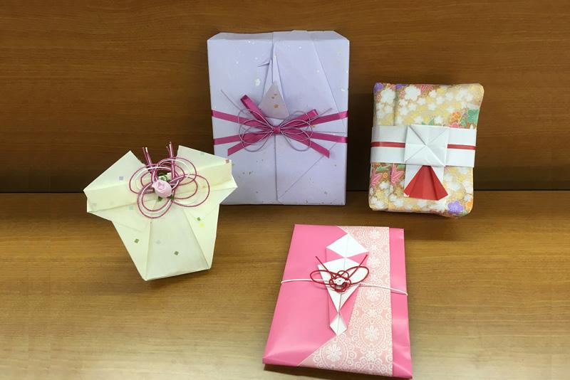 ラッピング講習会:日本包みコース