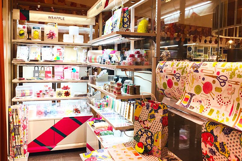WRAPPLE wrapping and D.I.Y. +cafe OPENのお知らせ