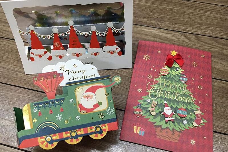 ★クリスマスカード販売中です★ ~シモジマ浅草橋駅前店~